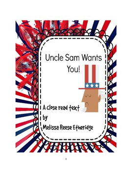 Article: Uncle Sam Wants You