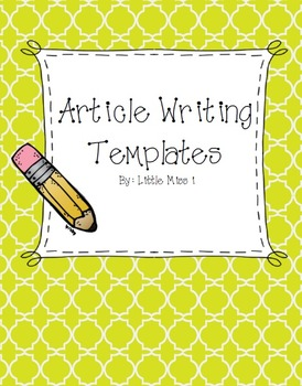 Article Writing Templates