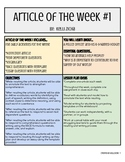 Article of the Week #1 - Great for Test Prep