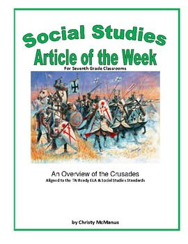 Article of the Week An Overview of the European Crusades