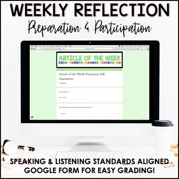 Launching Article of the Week | Back to School Prep | Middle School ELA | AOTW
