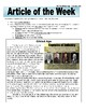 Article of the Week Bell Ringer: Gilded Age