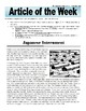 Article of the Week Bell Ringer Japanese Internment During WWII
