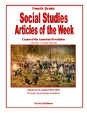 Article of the Week Causes of the Revolutionary War
