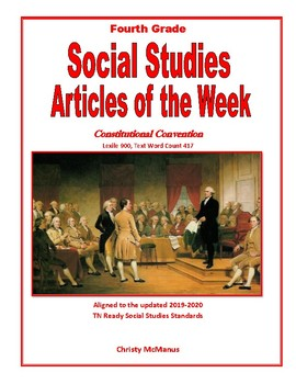 Article of the Week Constitutional Convention