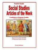 Article of the Week Contributions of Benjamin Franklin