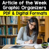 Article of the Week Differentiated Lesson Bundle