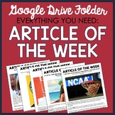 Article of the Week Google Folder (Over 85 Articles)