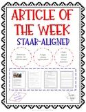 Article of the Week - Groundhog Day (STAAR-Aligned)