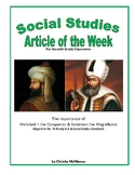 Article of the Week Mehmed II the Conqueror & Suleiman the