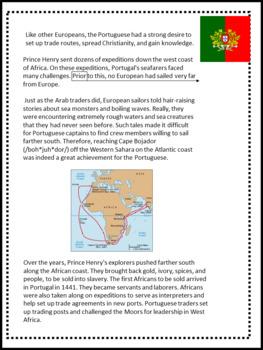 Article of the Week- Prince Henry the Navigator- Social Studies Explorers