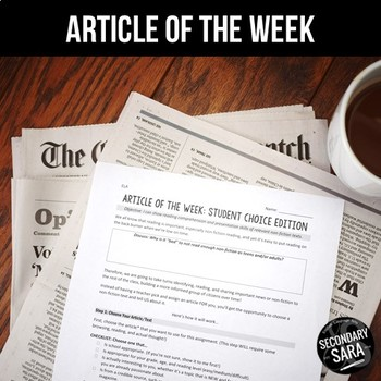 Article of the Week: Student-Led, CHOICE Non-Fiction Edition