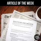 Article of the Week Program: Student-Led, CHOICE Non-Fiction