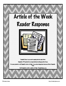 Article of the Week Reader Response Packet