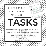 Article of the Week Task Sheet