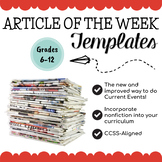 Article of the Week Templates