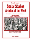 Article of the Week The Federalist and Anti-Federalist Debate the Contstitution