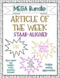 Article of the week - STAAR-Aligned Questions MEGA Bundle