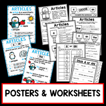 Articles PowerPoint and Printables