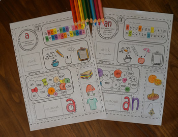 Indefinite Articles a / an Activities, Printables, Interactive Notebook