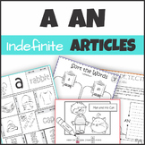 Indefinite Articles a / an Activities, Printables, Interac