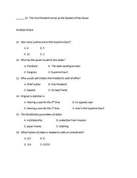 Articles 4-7 Quiz