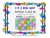 Articles A and An Game: Literacy Center: Grammar Game: 4th