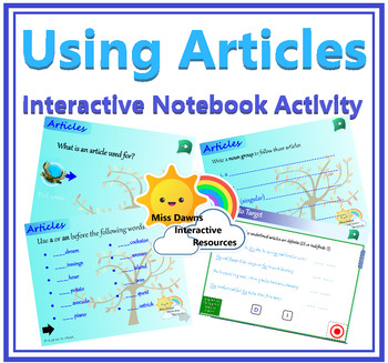 Interactive Articles Activity for IWB