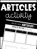 Articles Activity
