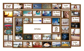 Articles Legal Size Photo Board Game