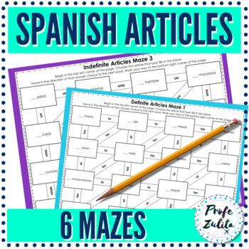 Articles Maze (Definite & Indefinite!)