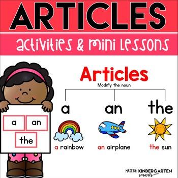 Articles Mini Lessons & Activities
