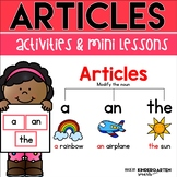 Articles Mini Lessons & Activities