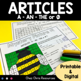 Articles Mystery Pictures - Color by Code - PRINTABLE & DIGITAL