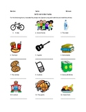 Articles Practice Spanish Worksheet