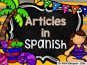 Articles {Spanish}