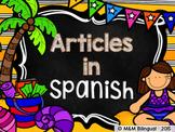 Articles {Spanish}