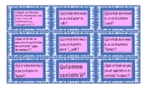 Articles Spanish Card Game