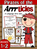Articles Grammar Unit (A, An, & The) - Pirates of the Articles