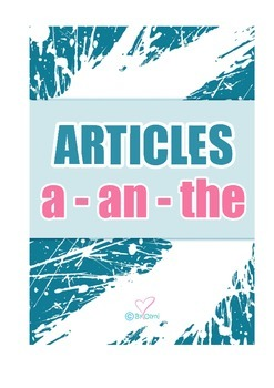 """Articles """"a-an-the"""""""