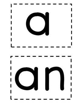 Articles: a vs. an {grammar} {ESL} {indefinite}