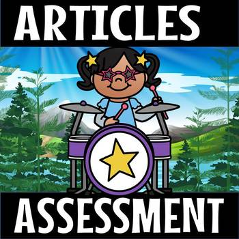Indefinite Article assessment(flash freebie)