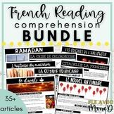 French Reading Comprehension Bundle - Ensemble de compréhension de lecture