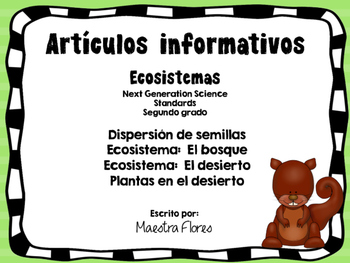 Articles/desert/ecosystem/forest/plants in Spanish