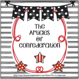 ARTICLES OF CONFEDERATION - First Constitution - Northwest Ordinance