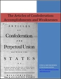 Articles of Confederation Accomplishments and Weaknesses D