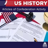 Articles of Confederation Activity | US History | Primary Sources