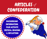 Articles of Confederation - Activity & Reading