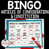 Articles of Confederation & Constitution Review Game:  BINGO