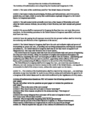 Articles of Confederation Document Activity